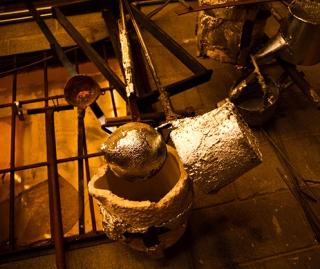 Aluminium Pouring