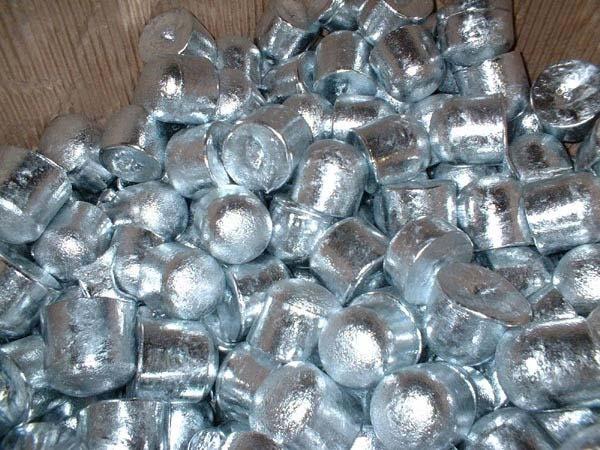 Boules de zinc