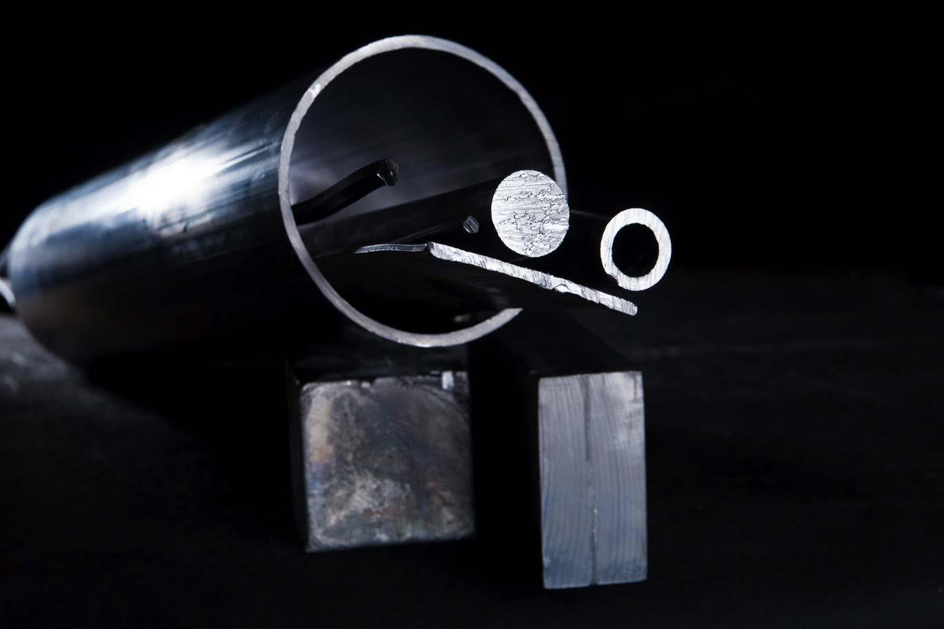 Tiges en zinc