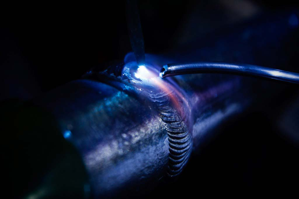 Lead Welding Process